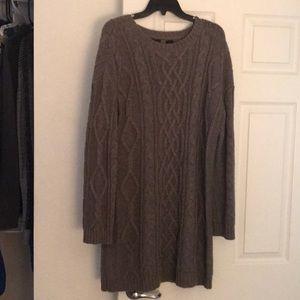 Moda International - Large Sweater dress